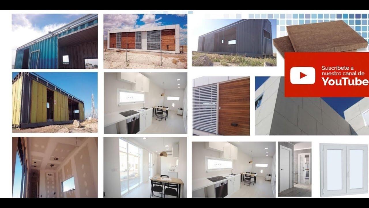 Casas prefabricadas echas con contenedores maritimos youtube - Casas modulares contenedores ...