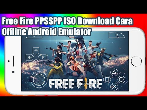 Free Fire PPSSPP ISO Download Cara | Offline Free Fire PSP ISO File Android Emulator