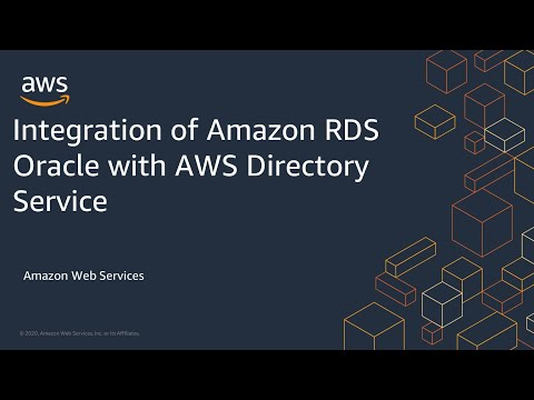 Integration of Amazon RDS Oracle with AWS Directory Service