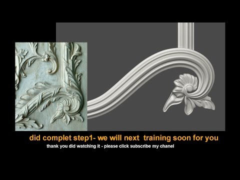 3ds Max - Tutorial - 3D CLASSICAL _Flower- Step 01