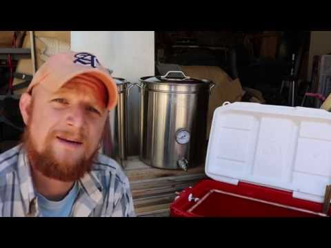 How To Build An All Grain Brewing Kettle Kit / Mash Tun Build