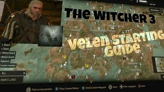 The Witcher 3: Lvl 3 - 5 Velen Starting Guide - Beginner