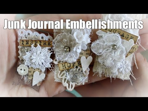 Snippet Clips & Paper Clips for Junk Journals   OLLVT   Tutorial