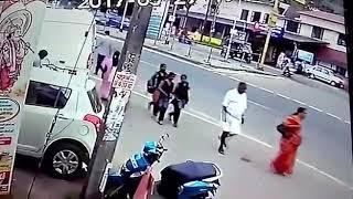 Live accident  Khatarnak accident
