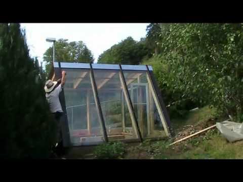 Construcci n de un invernadero de dise o diy en 5 minutos for Construccion de viveros e invernaderos