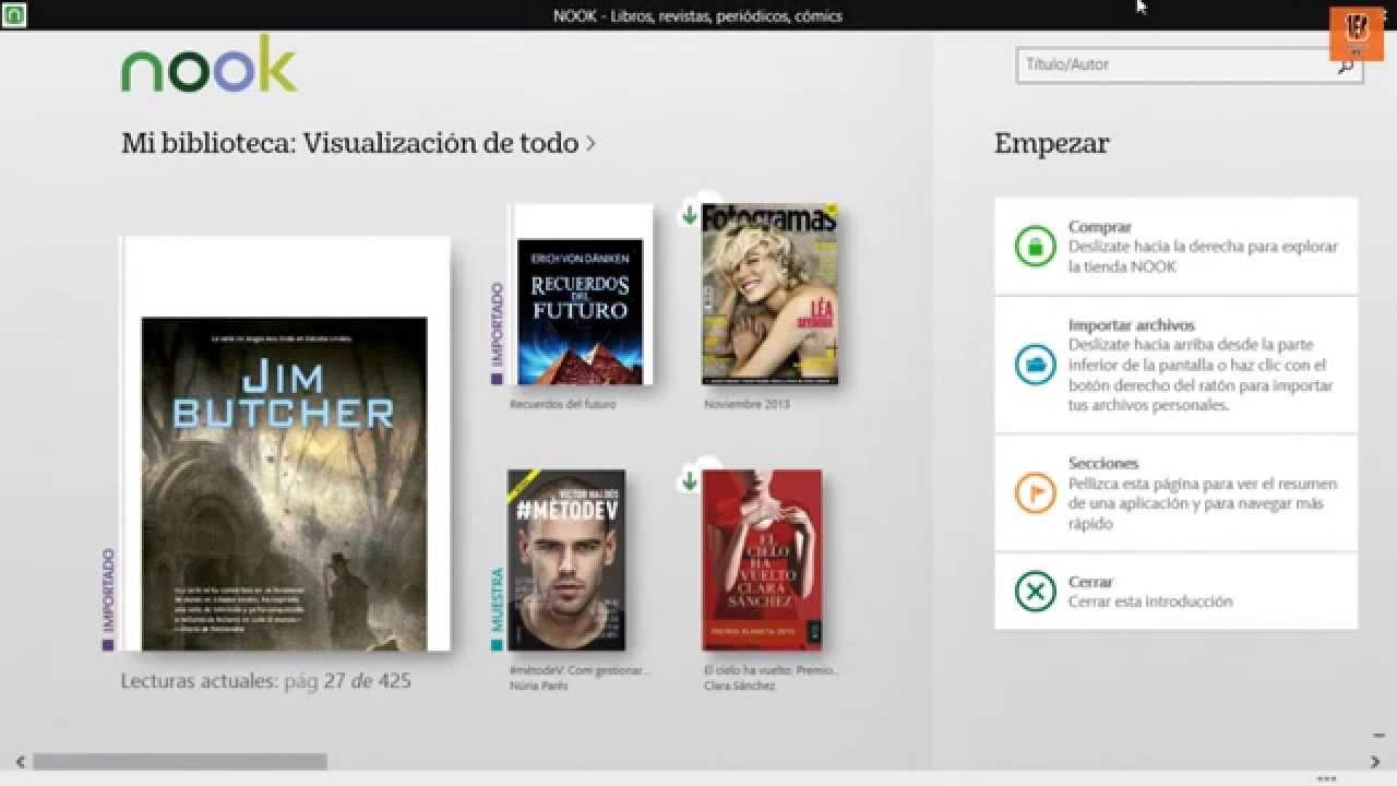 La Mejor Aplicacion Para Leer Libros En Windows 8.1 Y