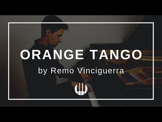 Orange Tango by Remo Vinciguerra