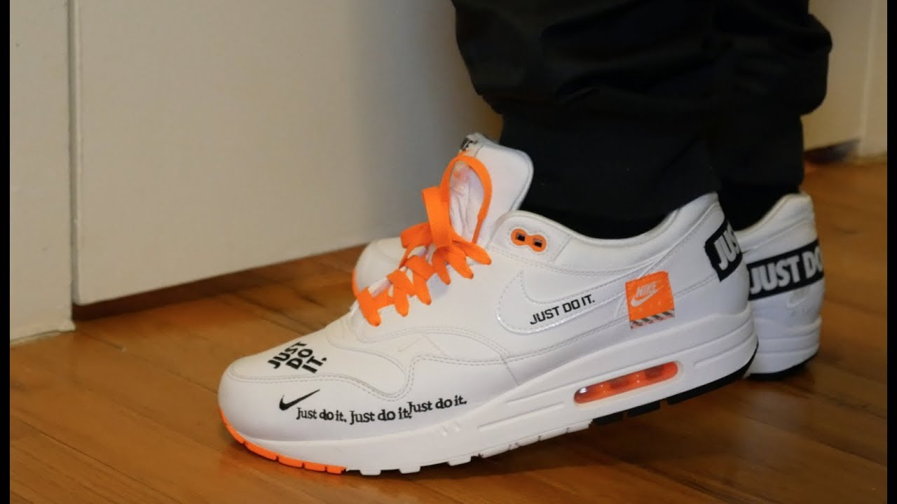 b4e576b551f Nike Air Max 1 JDI ( JUST DO IT ) - YouTube