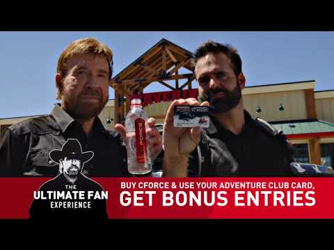 Maverik: The Chuck Norris Ultimate Fan Experience from CForce & the Adventure Club