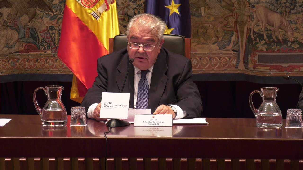 "Presentation of the book ""Minimum commentary of the Spanish Constitution"""