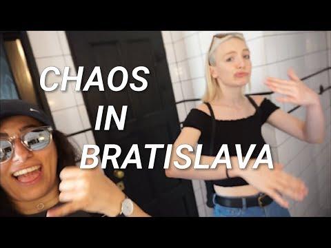 VLOG - FOOD, SHOPPING & DANCING IN BRATISLAVA