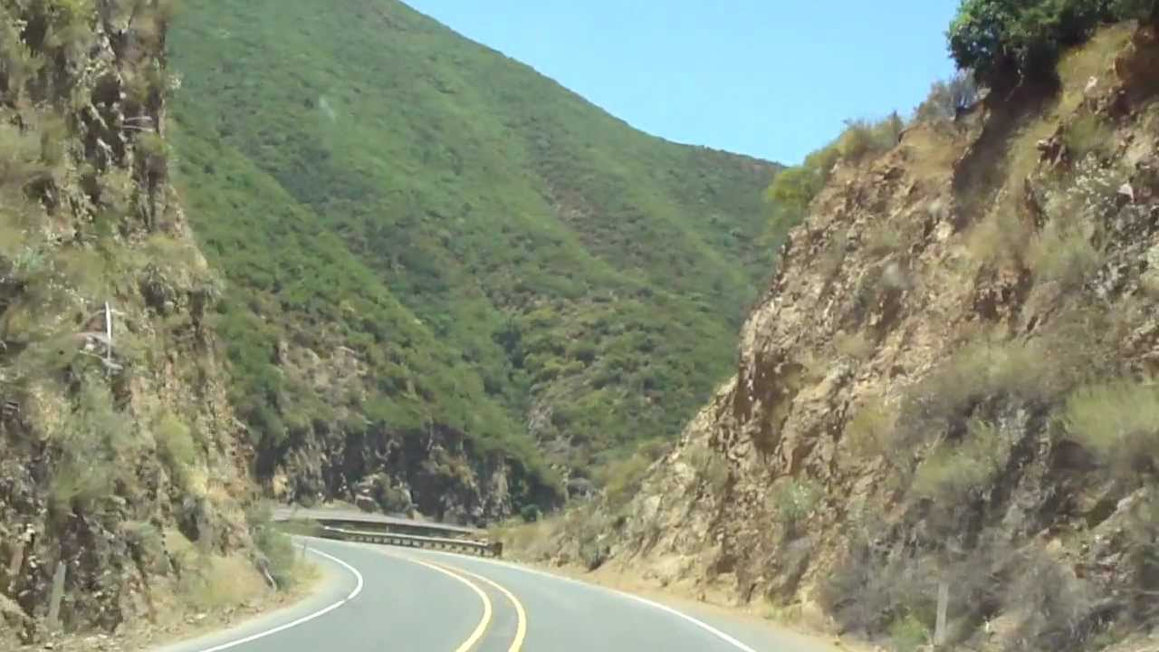 A Road Racers Dream Route 74 The Ortega Highway YouTube