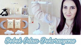 Bebek Odası Süsleri Kendin Yap | DIY Baby Room Decoration