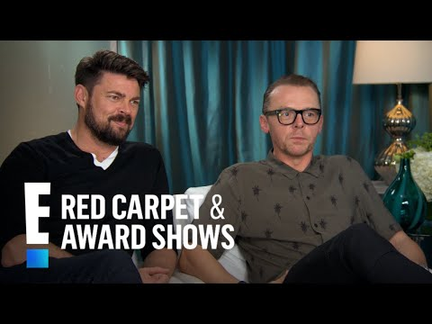 Karl Urban & Simon Pegg Talk Hiddleswift   E! Live from the Red Carpet