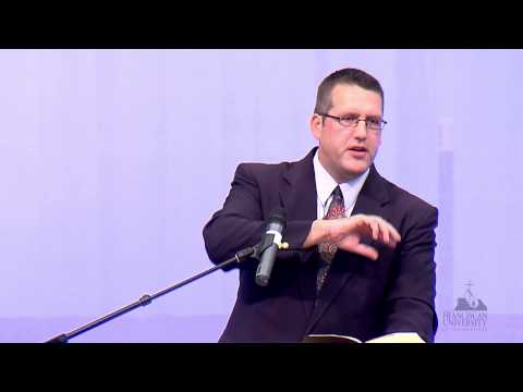 """Curtis Mitch: """"The Four Marks of the Church in Ephesians"""""""