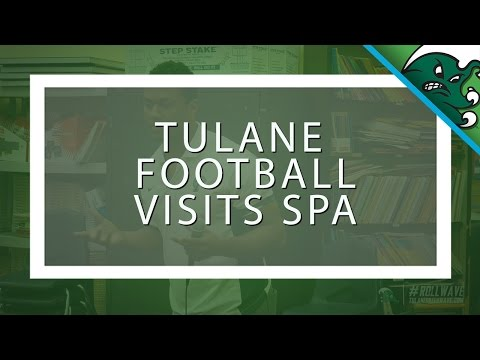 Tulane Football Visits Success Preparatory Academy