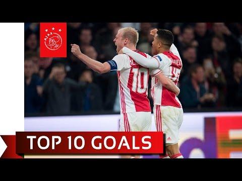 TOP 10 GOALS - Ajax in Europa League 2016/17