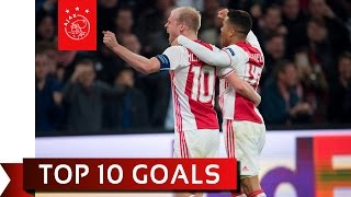 TOP 10 GOALS - Ajax in Europa League 2016/17