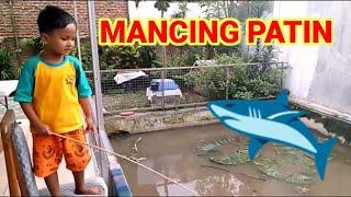 Anak Kecil Mancing Ikan Patin #Mancing Mania Ala RizqyRafa