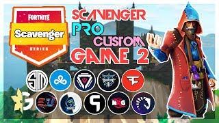 🥊Scavenger Pro Custom Solo🥊 Game 2 (Fortnite)