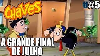 El Chavo - Wii - A GRANDE FINAL DE JULHO - parte 5