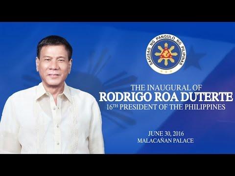 The Inaugural of Rodrigo Roa Duterte, 16th President of the Philippines