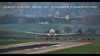 Zurich Airport Swiss Int. November Planespotting