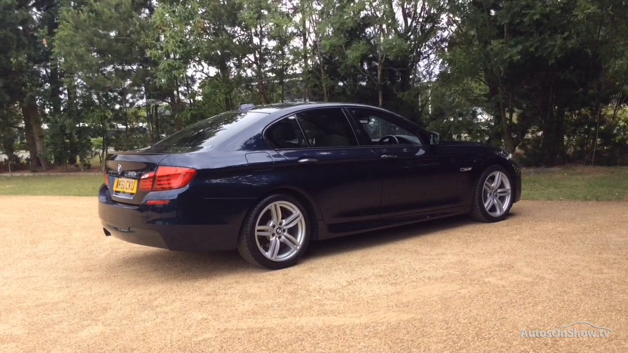 BMW 5 SERIES 528I M SPORT BLUE 2011