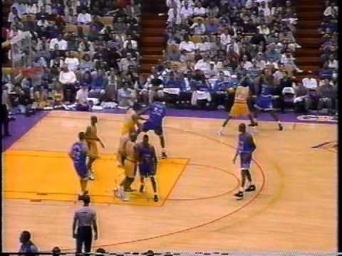 1995 Orlando Magic @ Lakers (Part 1)