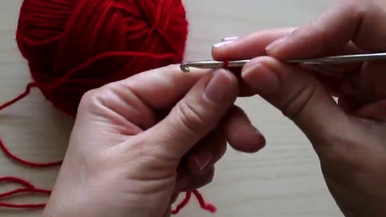 Uncinetto Lezione 1 Punto Catenella Crochet Lesson 1 Chain