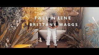 Christina Aguilera + Demi Lovato - Fall In Line (Brittany Maggs Cover)