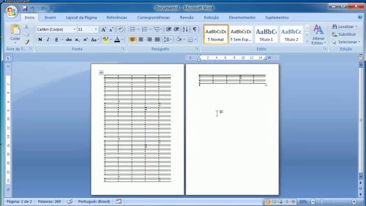 Formatações avançadas de numeração de página ...