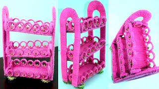 Woolen art and craft ideas - Wool craft designs for home decor - Best out of waste - Best reuse idea