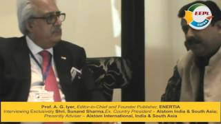 Sunand Sharma, Ex Country President,Alstom Interview with Prof. A. G. Iyer on ENFRAtv - ENFRA Show