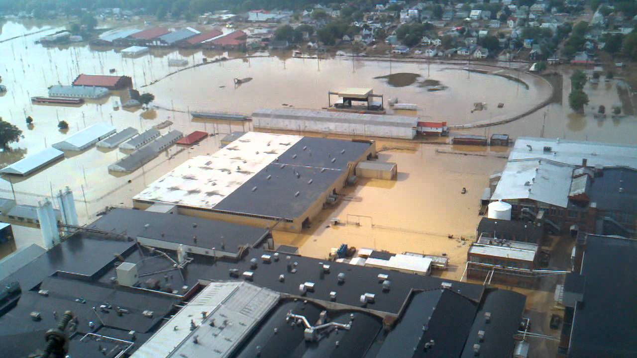 Flooding around bloomsburg pa