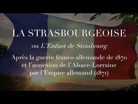 chant militaire la strasbourgeoise