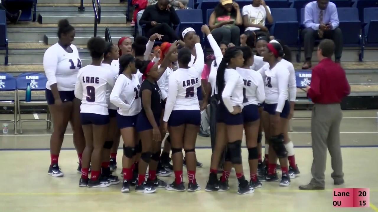 Oakwood University vs Lane College Volleyball 10/10/17