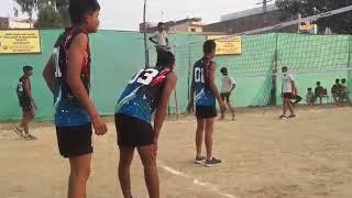 State championship Volleyball match in dabri