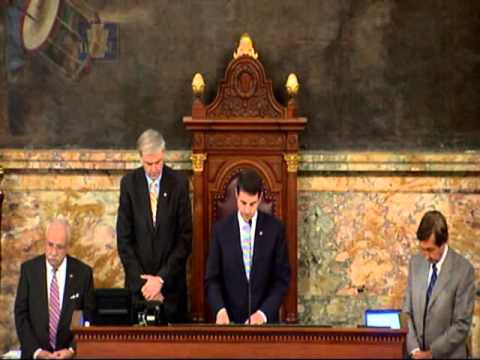 Opening Prayer At The House Of Representatives