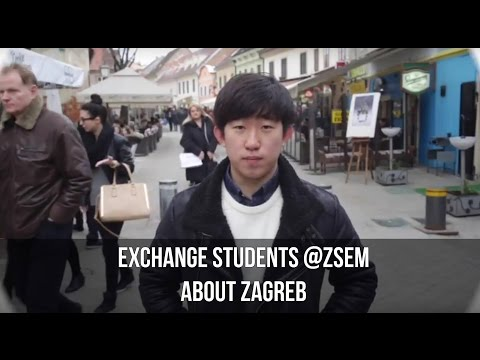 EXCHANGE STUDENTS AT ZSEM: ABOUT ZAGREB