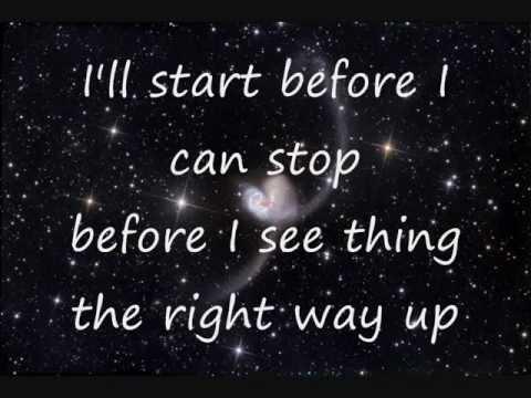 Coldplay - Speed of sound (lyrics)