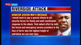 Senator Gideon Moi\'s message following terror attack at Riverside