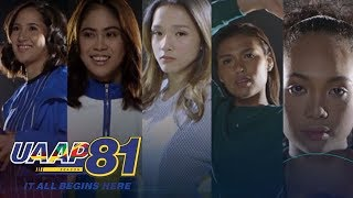 UAAP 81: #SorryNotSorry with UAAP 81 Women's Volleyball Players