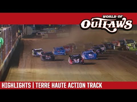 World of Outlaws Craftsman Late Models Terre Haute Action Track June 29, 2018 | HIGHLIGHTS