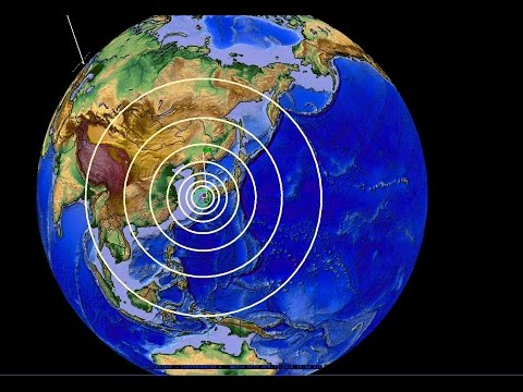 4/15/2016 -- Major Earthquakes Strike Japan -- Pacific Unrest Obvious -- West Coast USA on watch