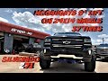"""SILVERADO Z71 WITH A 9"""" MCGAUGHYS LIFT KIT ON 37"""" TIRES BACK ON THE STREETS"""