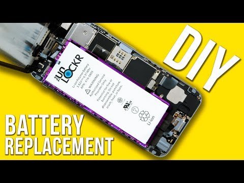 How do i replace iphone 6 battery