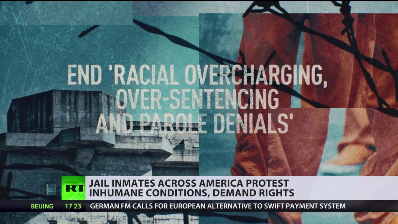 US prison strike: Inmates demand to end 'slave labor' & 'racist' sentencing