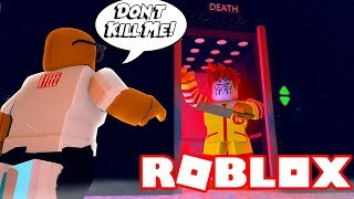 EVIL Ronald McDonald Wants Me DEAD In Roblox Creepy Elevator