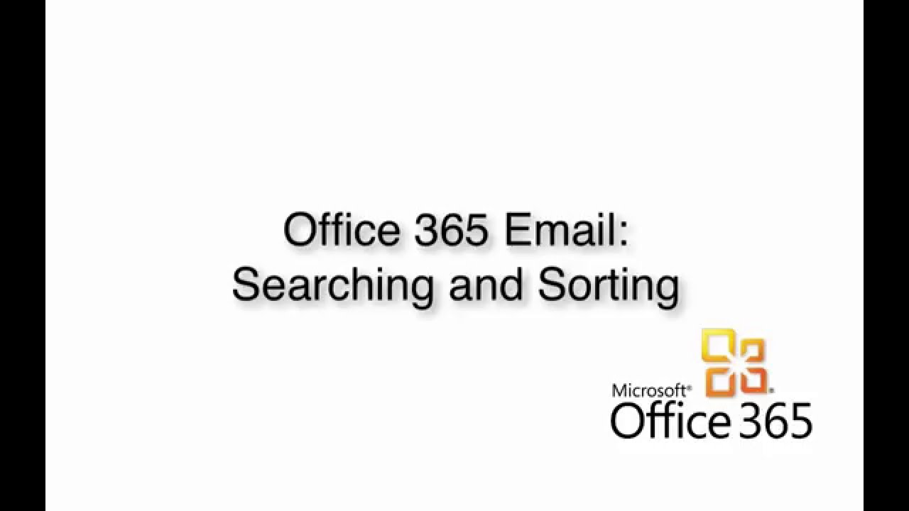 How to use search and filter Emails in Outlook Web App (OWA
